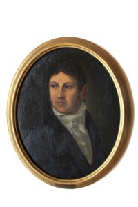 Portrait Brückners (Mus. Burg Mylau).